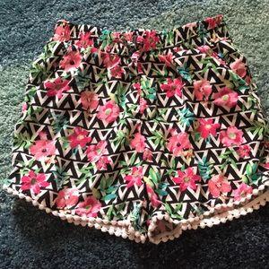 Girls summer shorts